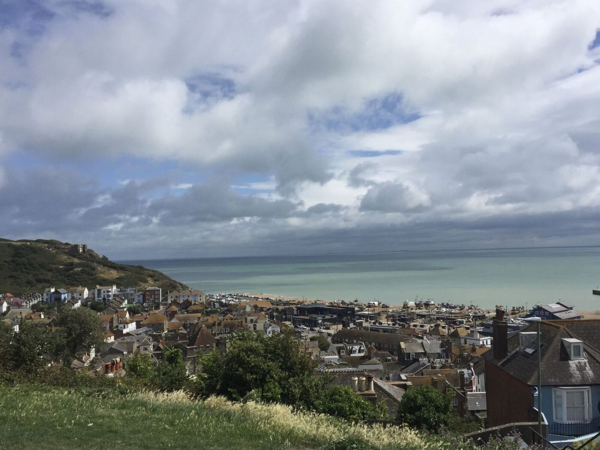 Coastal view from Hastings
