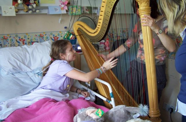 Image courtesy of Music in Hospitals & Care